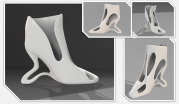 Dylan Salter 3D Printed High Heel Design