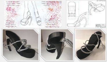 Kerys Colley 3D Printed High Heel Design
